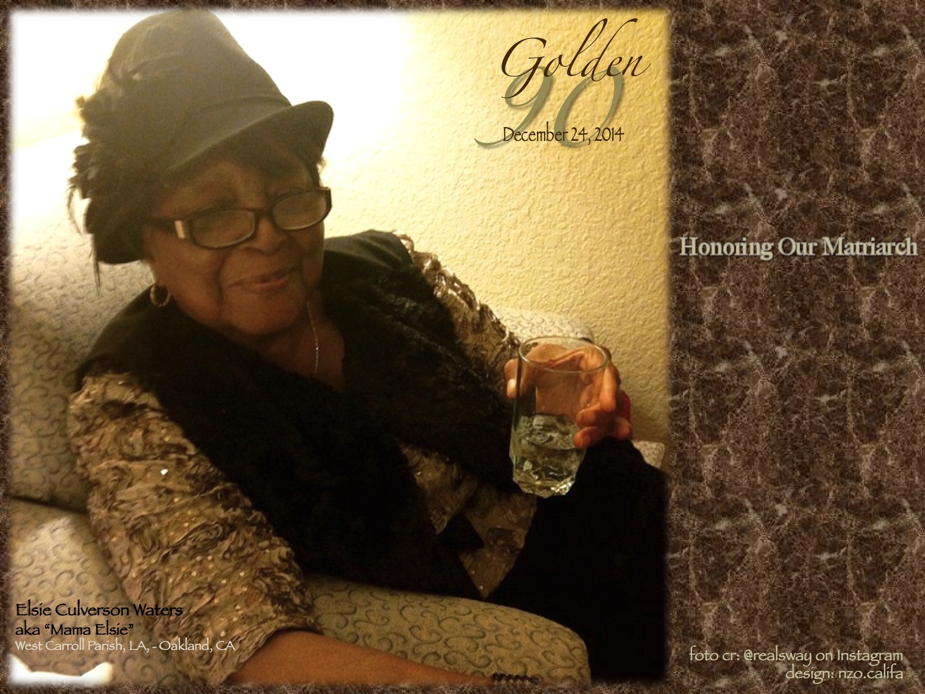 "Honoring Our Family Matriarch – ""Mama Elsie"" 