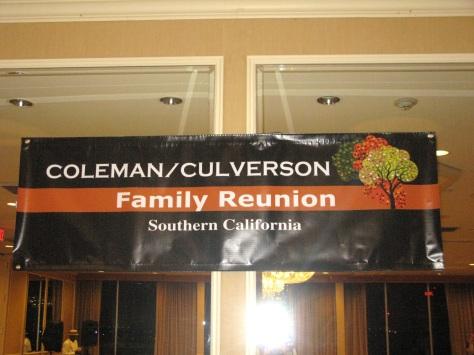 Coleman / Culverson Family Reunion - Southern California 2015
