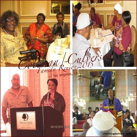 Coleman/Culverson Family Reunion -Southern California 2015