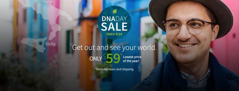 AncestryDNA$59