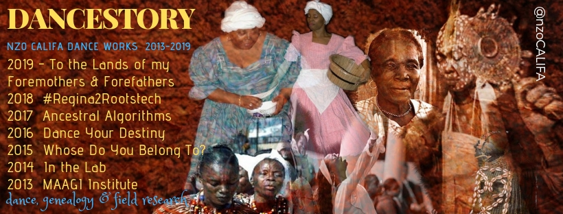 #Dancestory2019 Genealogy, Dance, nzoCALIFAncestry, Family History, Communal kinship, Ancestral Healing